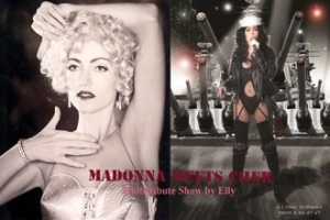 Madonna meets Cher by Elly