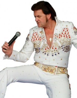 Barry Paul does Elvis